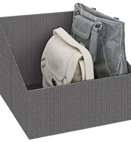 Bolsos en cajas