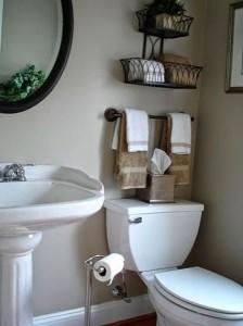 colgadores baño