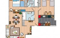 pisos sobre plano
