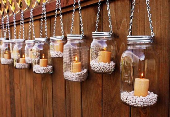 Lámparas para el jardín