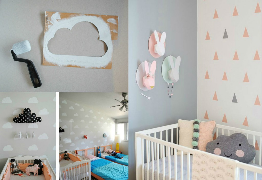 Decoración De Habitaciones Para Bebés Modernos Apicat