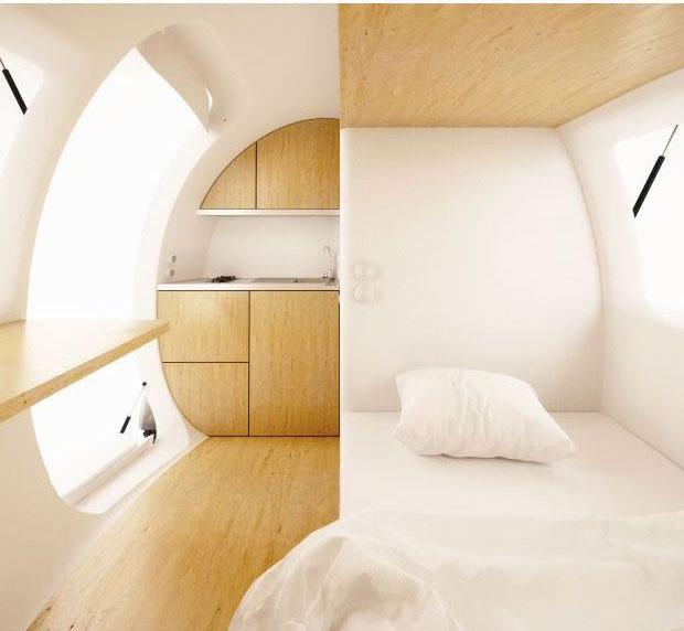 Ecocapsulade interior