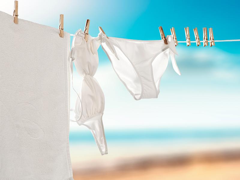 Cómo cuidar los bikinis