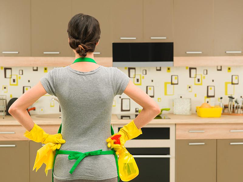 Neteja de la cuina