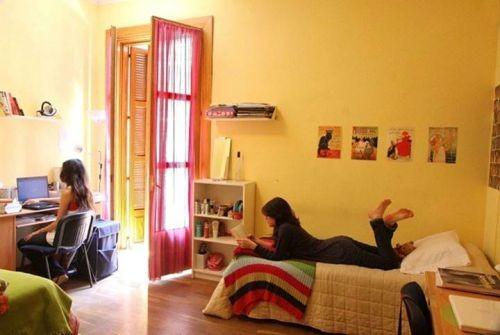 Dormitorio de piso de estudiantes