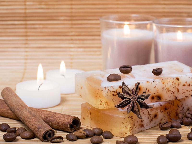 Espelmes, encens i olis essencials