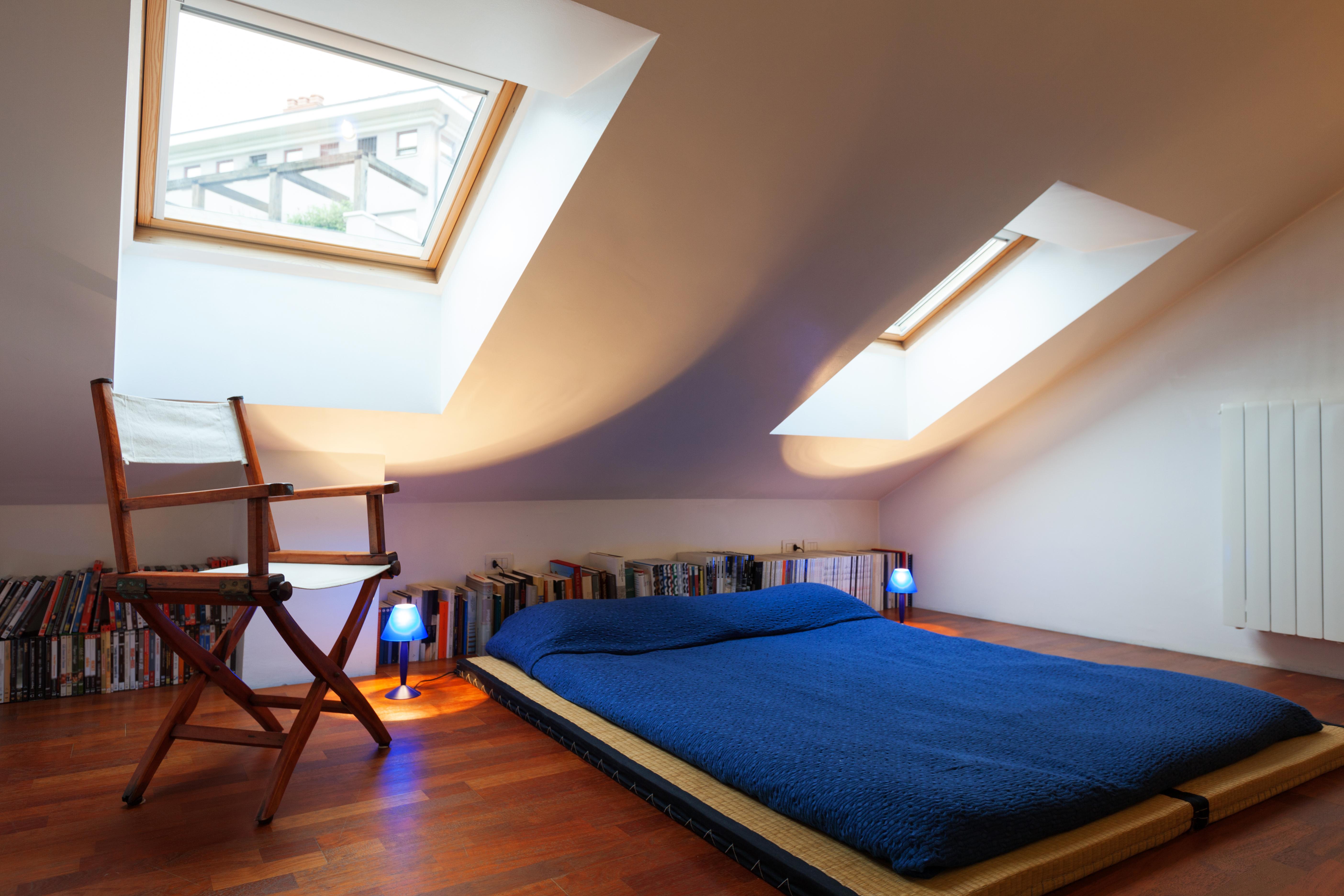 Colocar un futón en el dormitorio