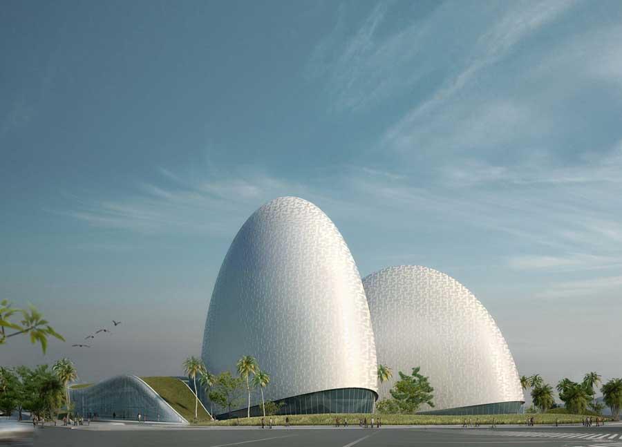 edificios inspirados en la naturaleza