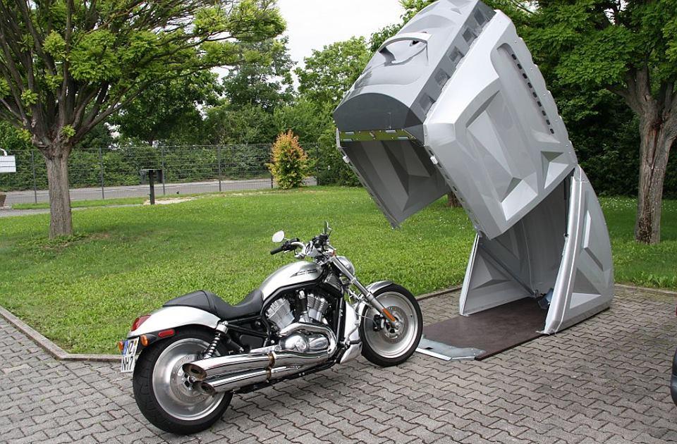Garatge per a motos