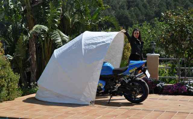 Lona per a motos