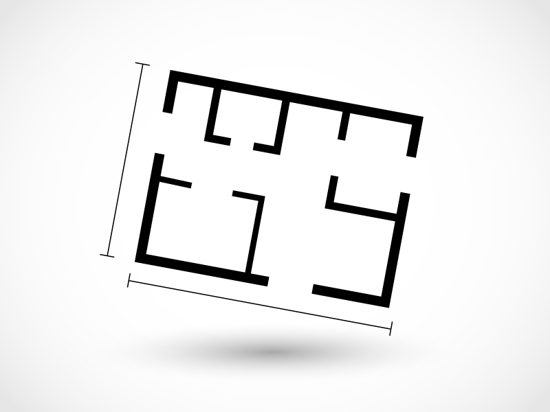 Metres quadrats útils vs metres quadrats construïts