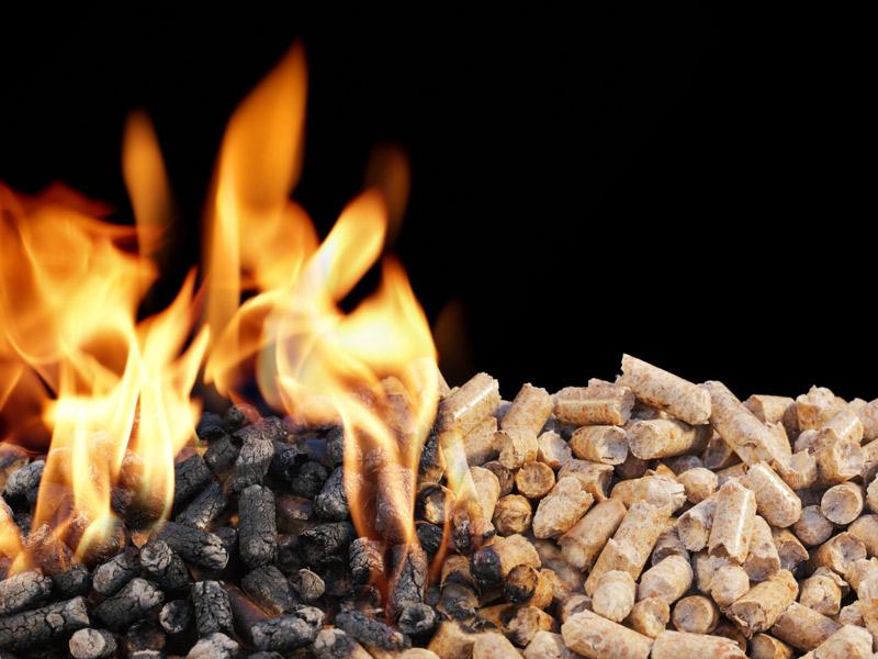 Calefacción por biomasa