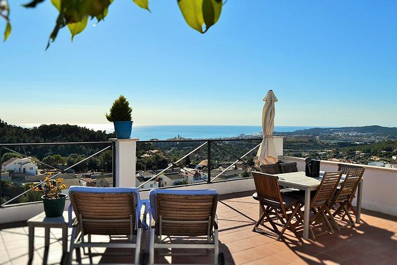 Casa con vistas en Sitges