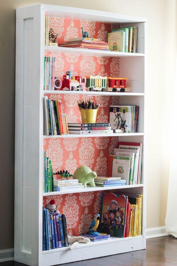 decorar muebles papel pintado
