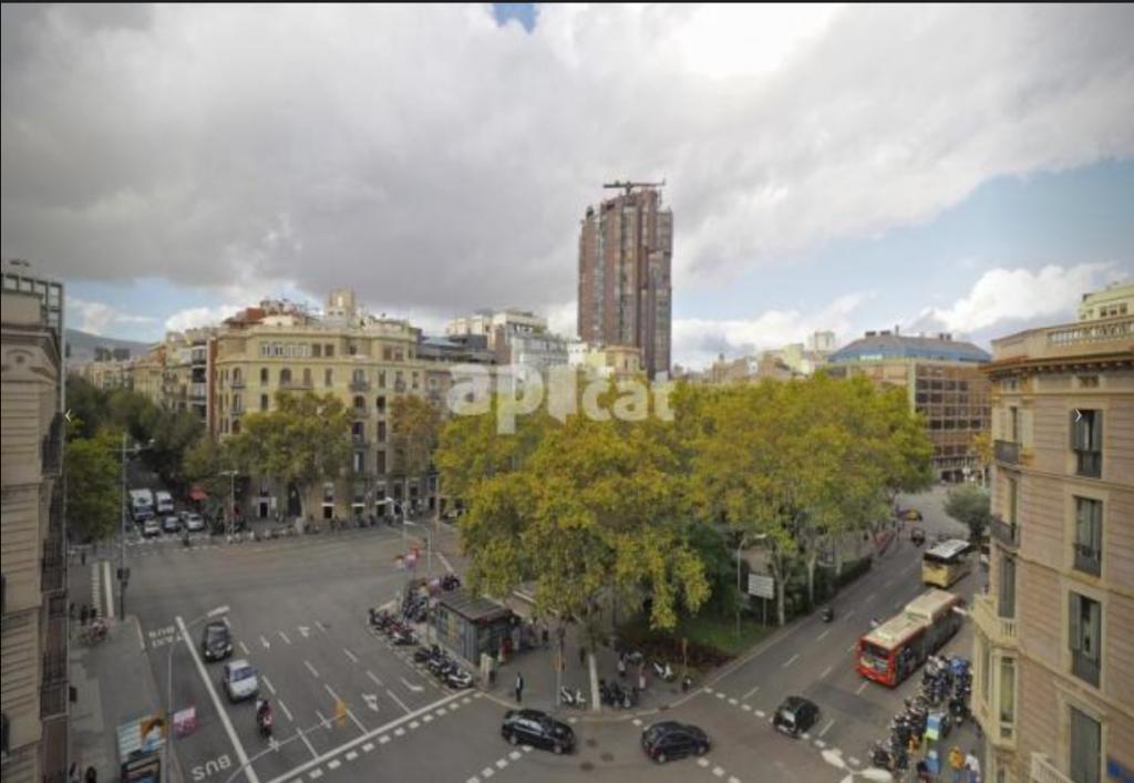 piso con vistas en Barcelona