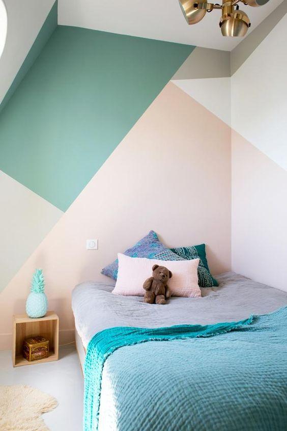 decorar amb formes geomètriques