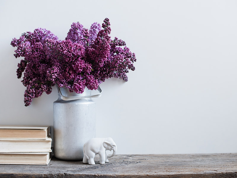 Beneficios de decorar con flores