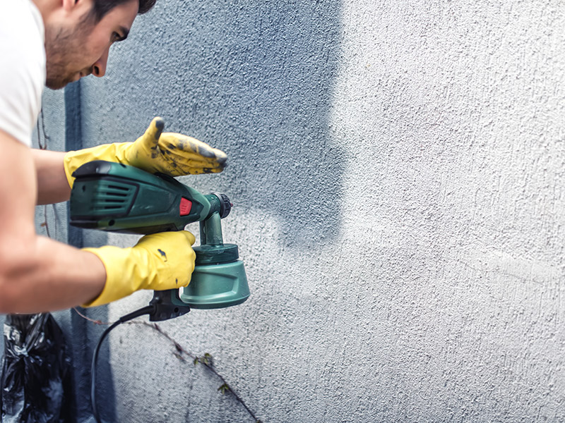 Una pintura que convierte una pared en un panel solar