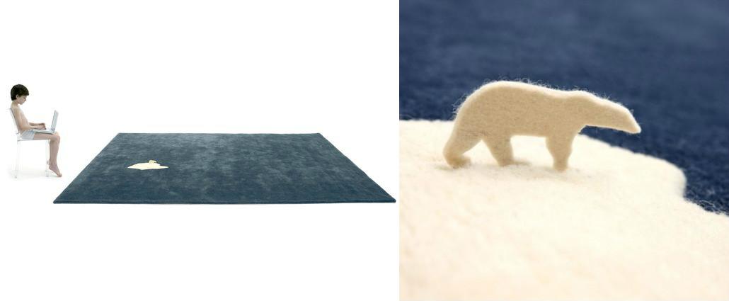 alfombra global warming