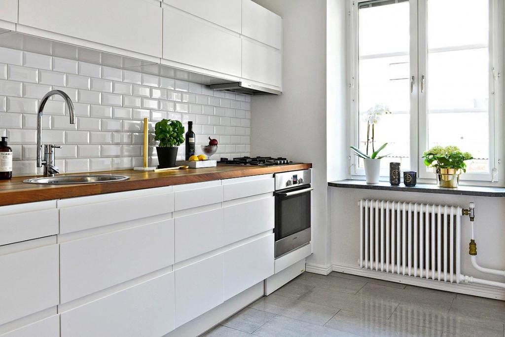free cocinas blancas with cocinas grises y blancas - Cocinas Modernas Blancas