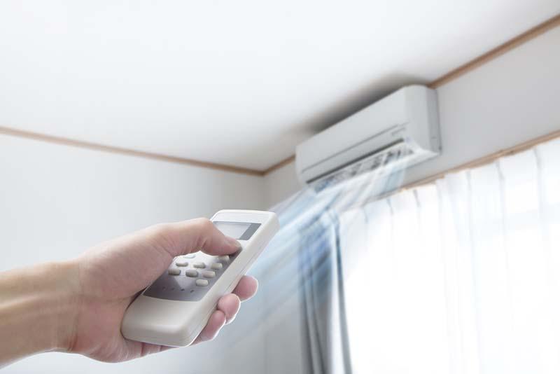Aire acondicionado versus ventilador