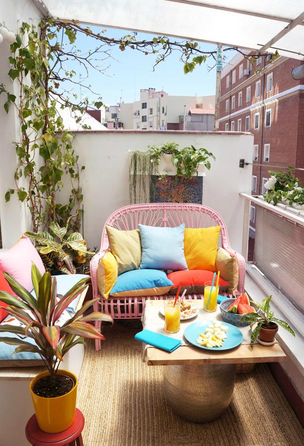 decorar balcones