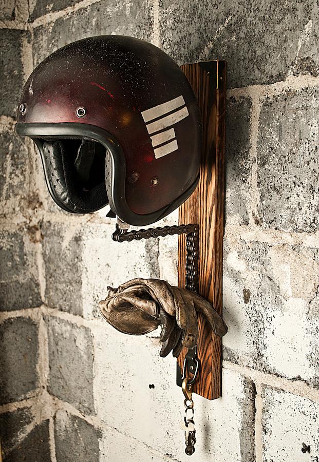Soporte para cascos