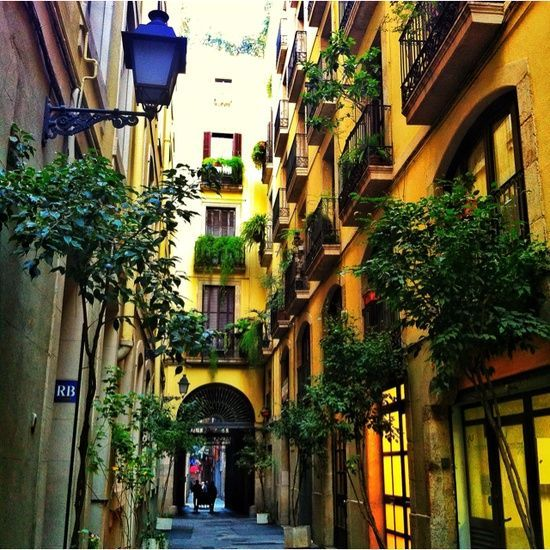 pasajes barcelona