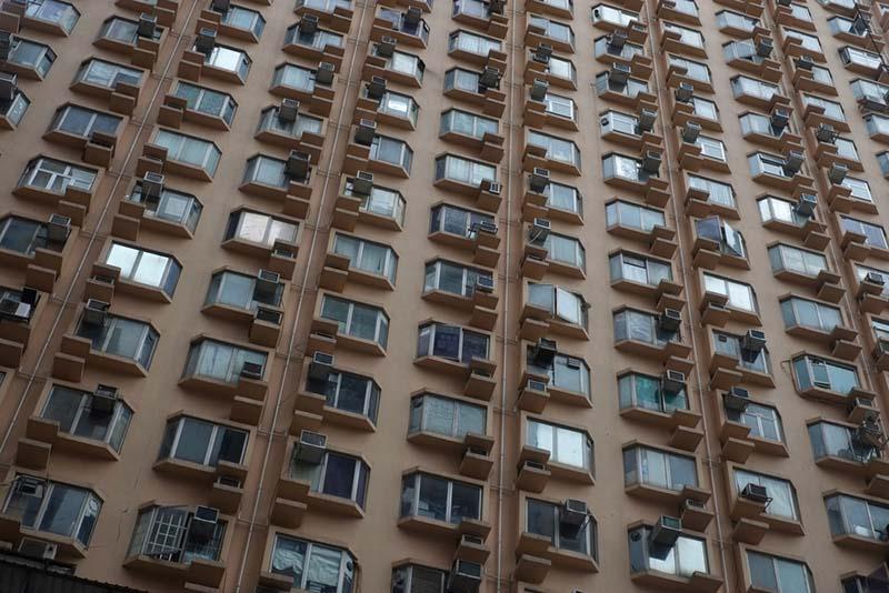 Pisos pequeños en Hong Kong