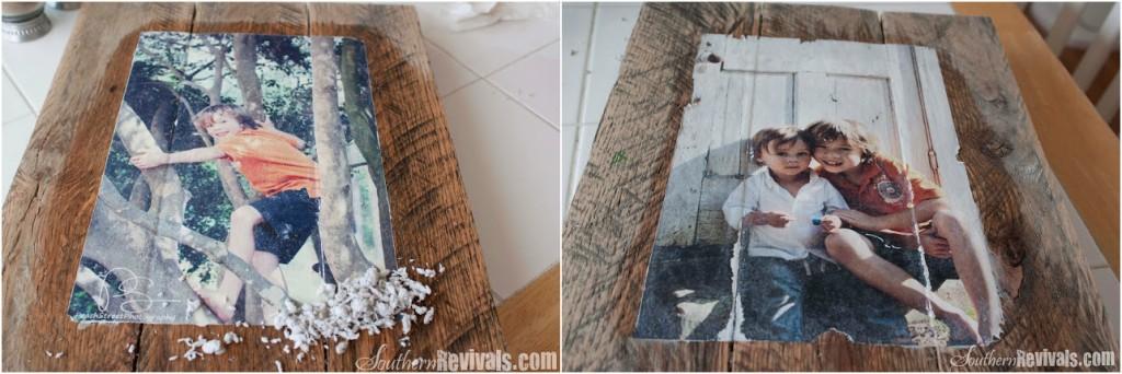transferir imagenes sobre madera