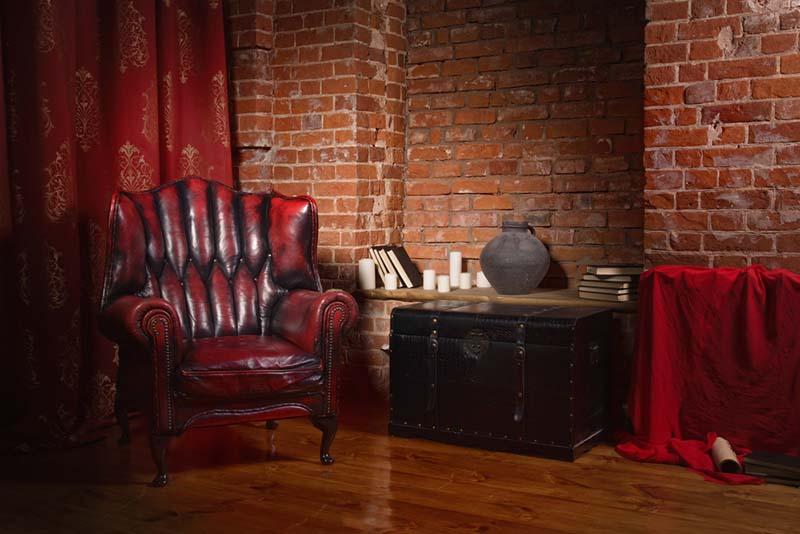 ¿Decorarías tu piso con rojo?