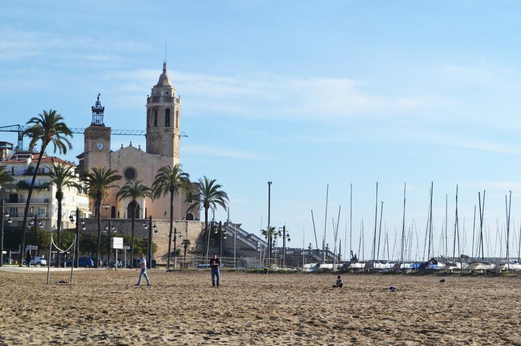 Sitges es una de las mejores ciudades con conexión con Barcelona